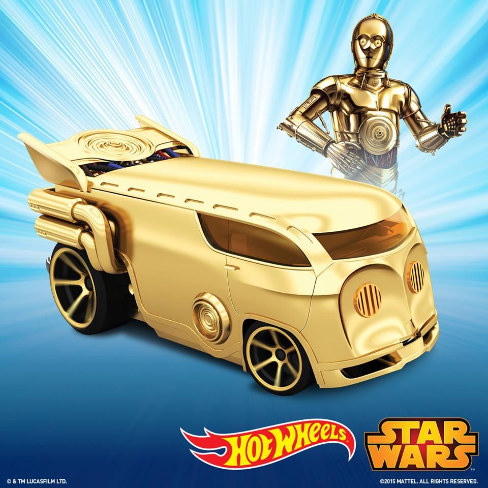 Hot Wheels C-3PO & Inquisitor Character Cars veröffentlicht