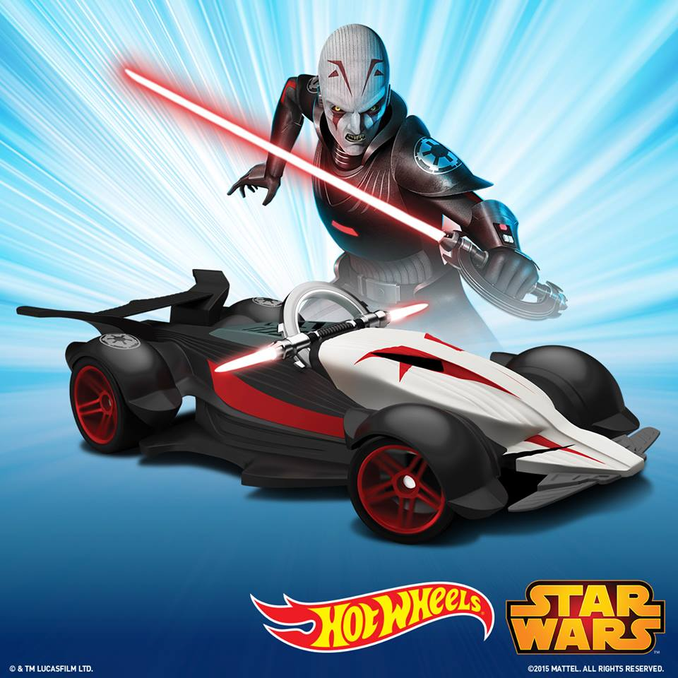 Hot Wheels Inquisitor Character Car