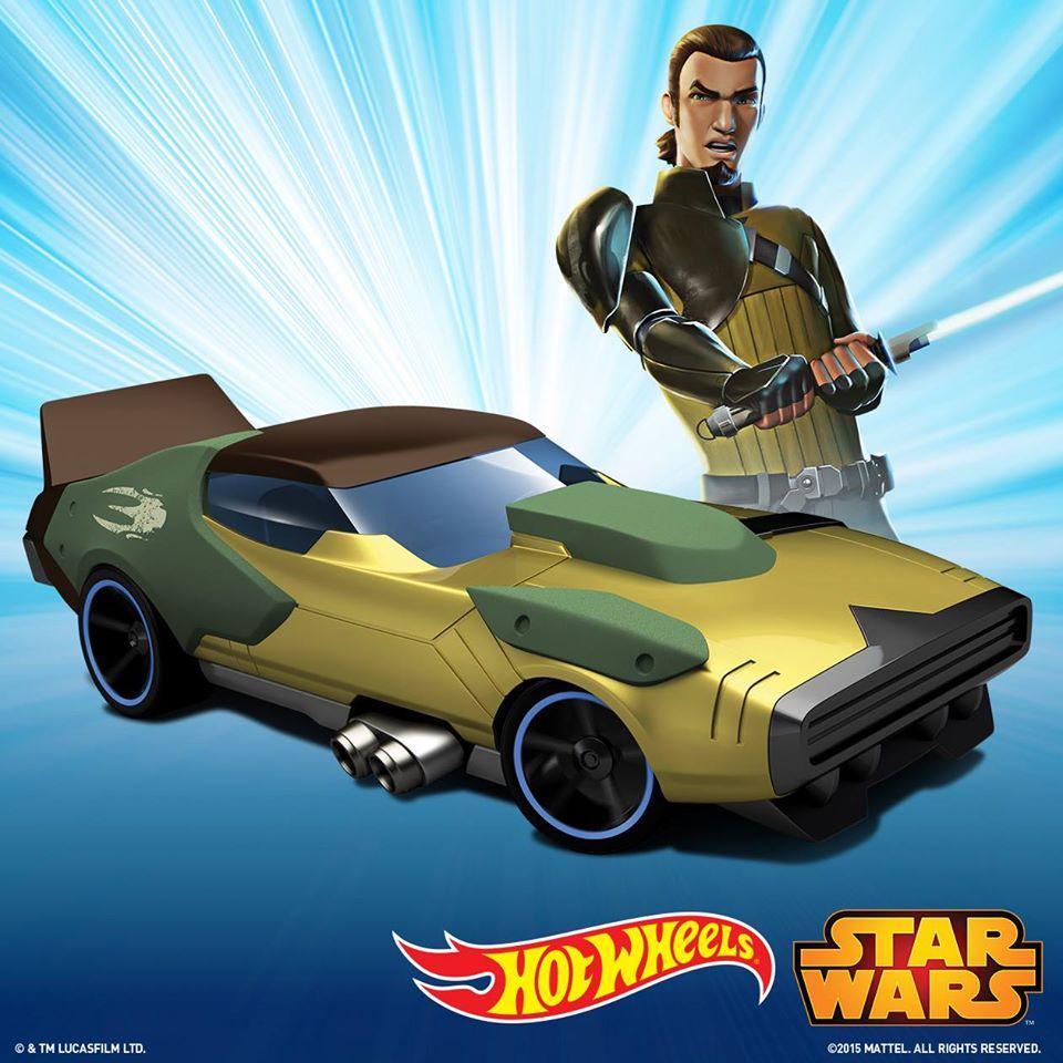 Erstes Bild des Hot Wheels Kanan Jarrus Character Car