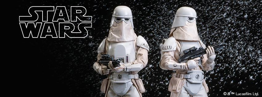 Erste Bilder der Kotobukiya ArtFX Plus Snowtrooper