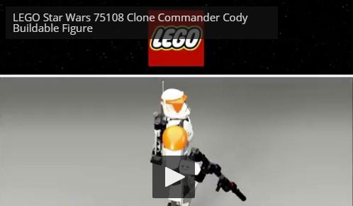LEGO Star Wars Commander Cody Constraction Figure
