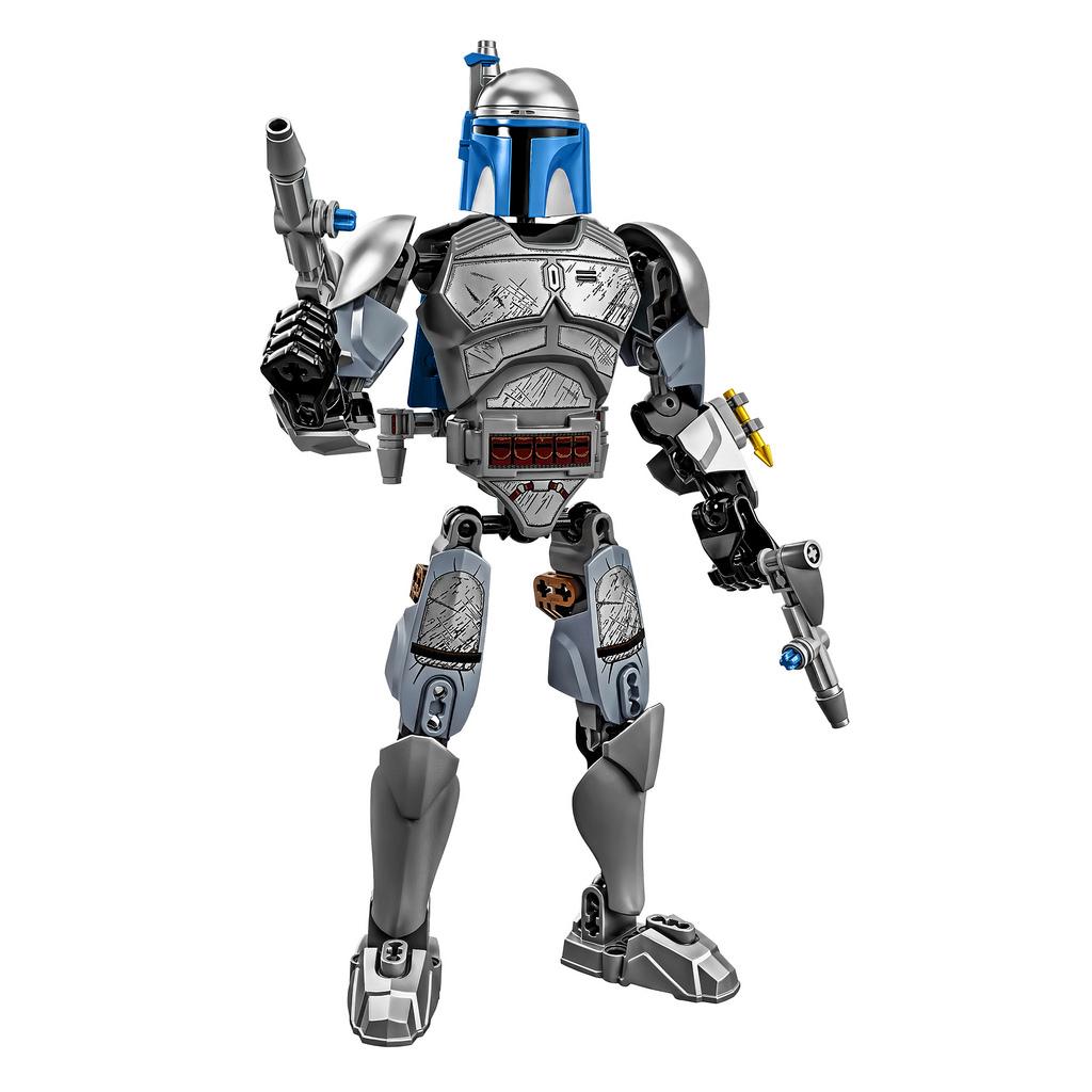 Hochauflösende Bilder aller LEGO Star Wars Buildable Figures 2015
