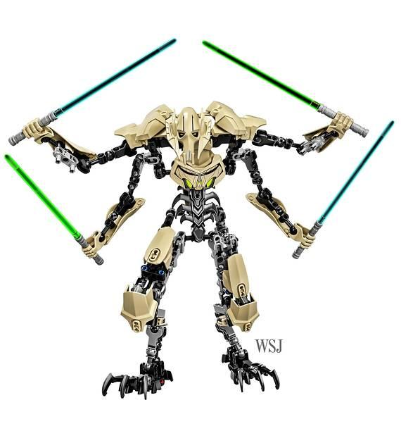 LEGO Star Wars Constraction Figures präsentiert