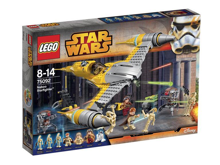 Lego Star Wars 75092 Naboo Starfighter