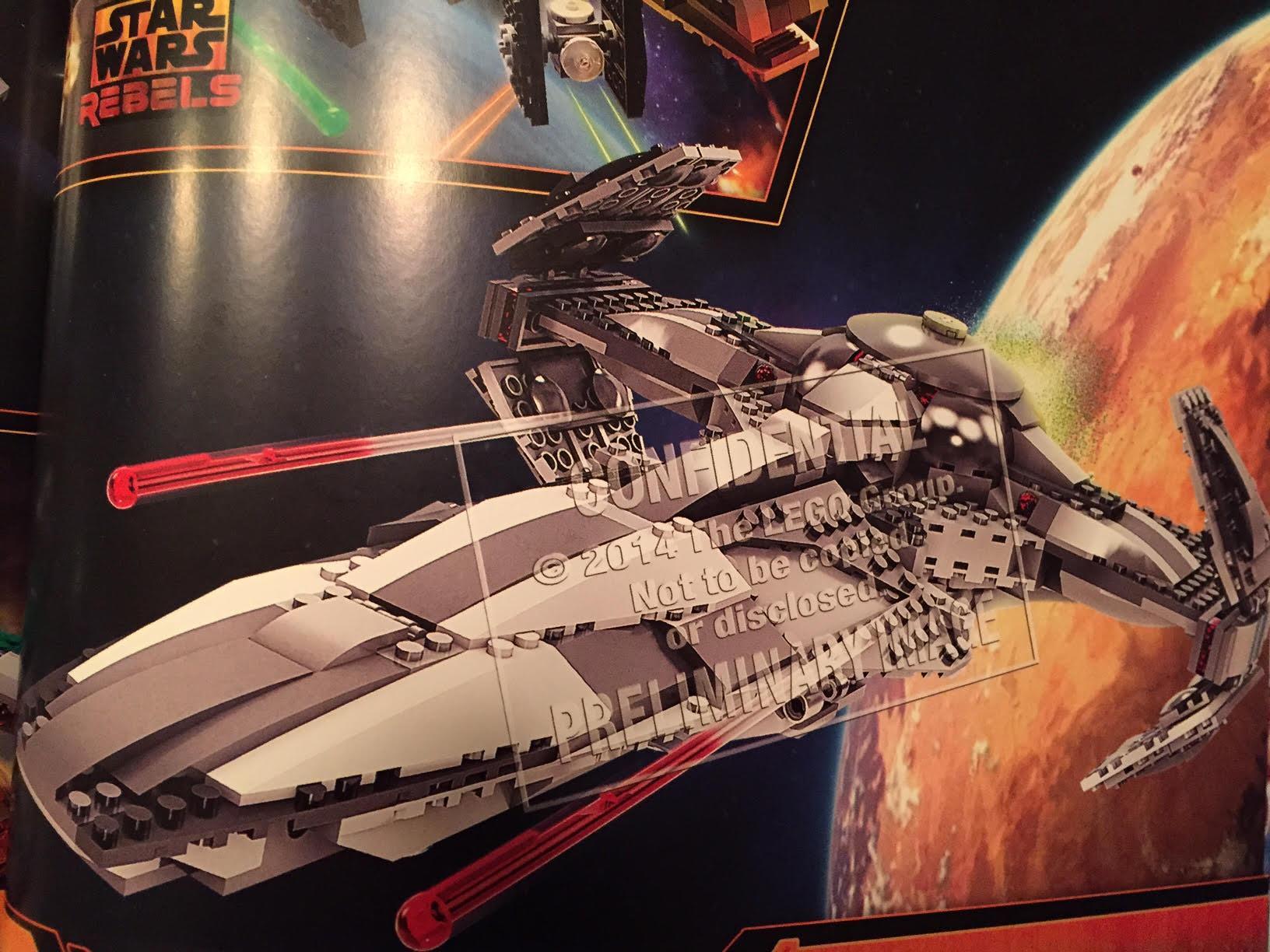Lego Star Wars 75096 Sith Infiltrator