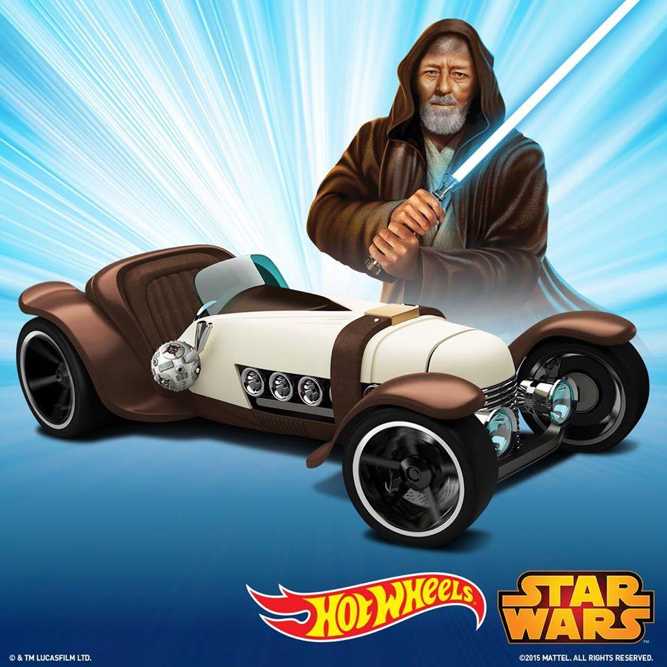 Hot Wheels Obi-Wan Kenobi Character Car offiziell vorgestellt