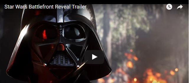 JETZT ONLINE: Star Wars Battlefront Reveal Trailer