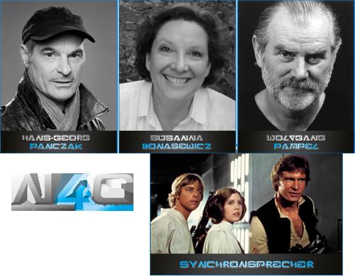 Luke, Leia und Han auf der Noris Force Con