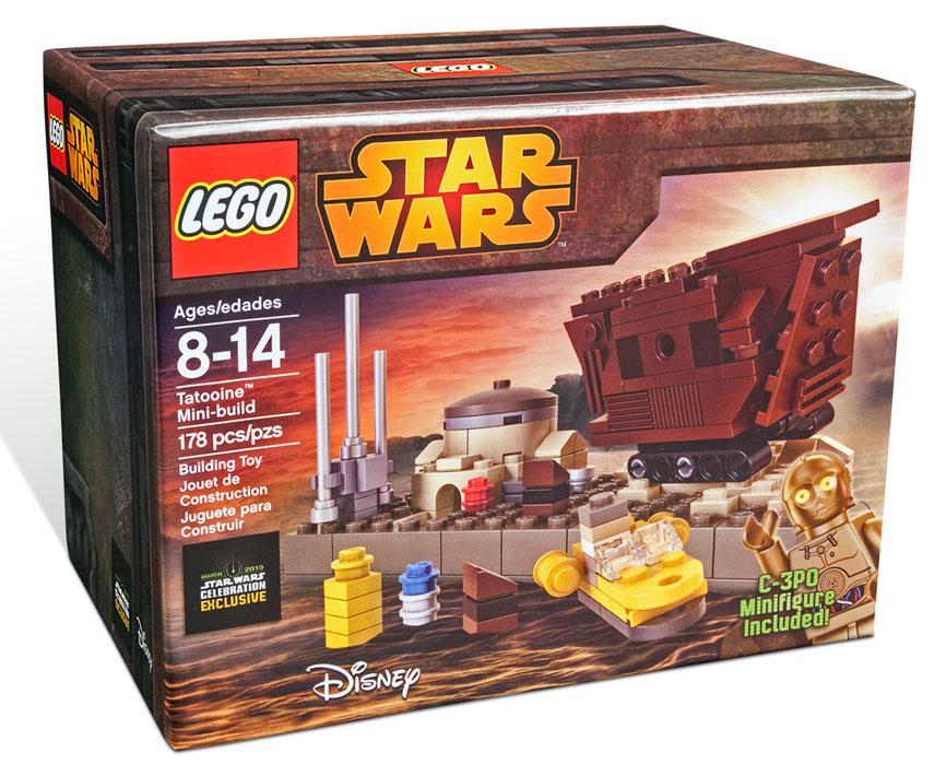LEGO Tatooine Mini Build – Star Wars Celebration Exclusive