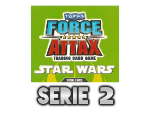 TOPPS Force Attax The Clone Wars Serie 2