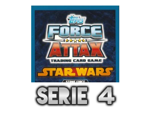 TOPPS Force Attax The Clone Wars Serie 4
