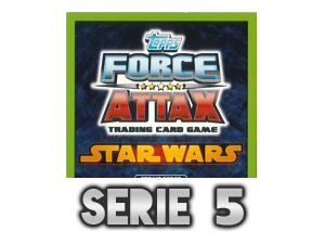 TOPPS Force Attax The Clone Wars Serie 5