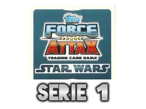 TOPPS Force Attax The Clone Wars Serie 1