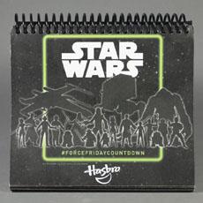 Alle Seiten des Hasbro #ForceFridayCountdown Kalenders
