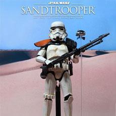 Neue Hot Toys Sandtrooper Sixth Scale Figur präsentiert