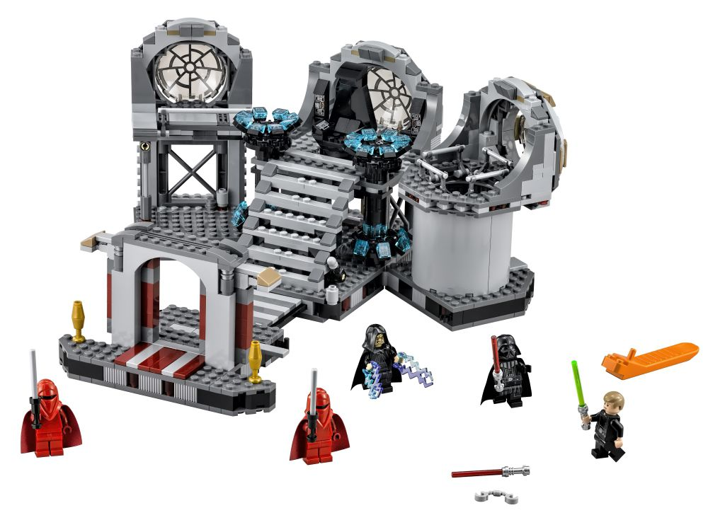 75093 Death Star Final Duel official picture, on starwarscollector.de