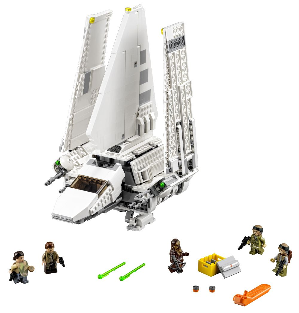 75094 Imperial Shuttle Tyderium official picture, on starwarscollector.de