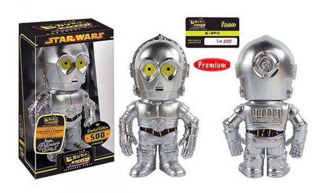 Funko Hikari Sofubi Metallic K-3PO