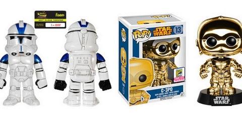 SDCC 2015 Star Wars Exclusive Funko Figuren