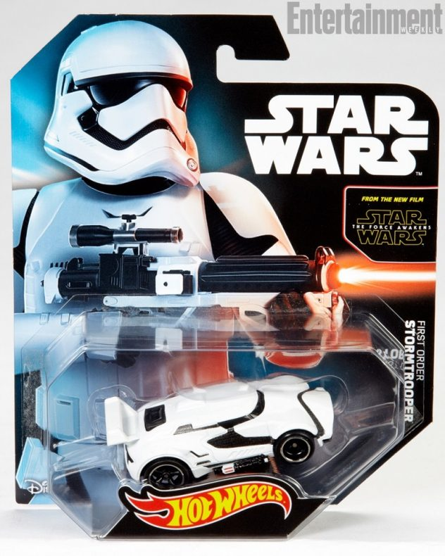 Hot Wheels First Order Stormtrooper Character Car 1
