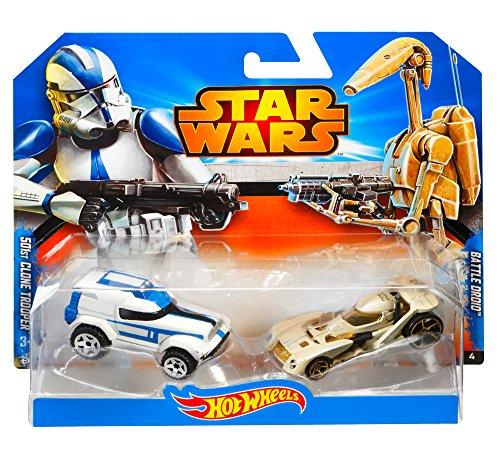 Hot Wheels Star Wars Battle Droid & Clone Trooper 1
