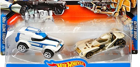 Erstes Bild vom Hot Wheels Star Wars Battle Droid Character Car
