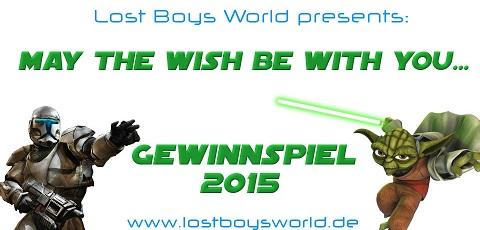Besonderes Star Wars Gewinnspiel auf LostBoysWorld