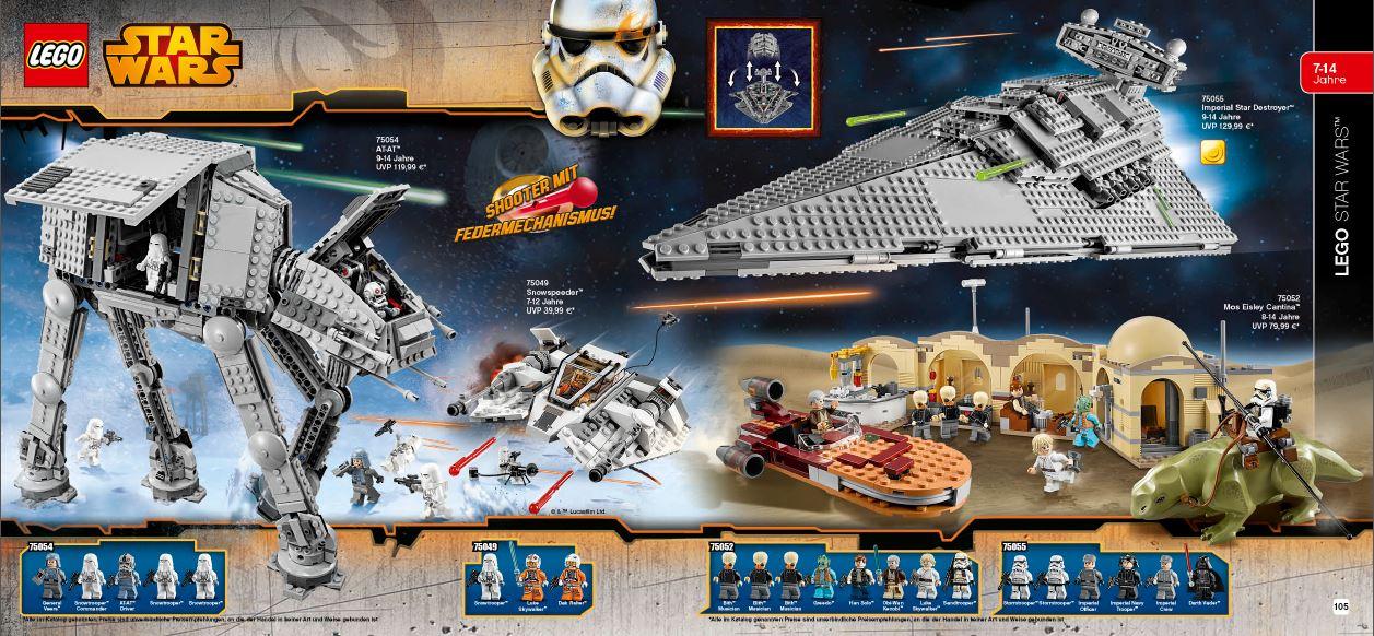 Lego Katalog 2015 Alle Star Wars Neuheiten Starwarscollectorde