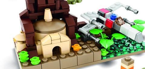 SDCC 2015 LEGO Star Wars Dagobah Exclusive Mini Set