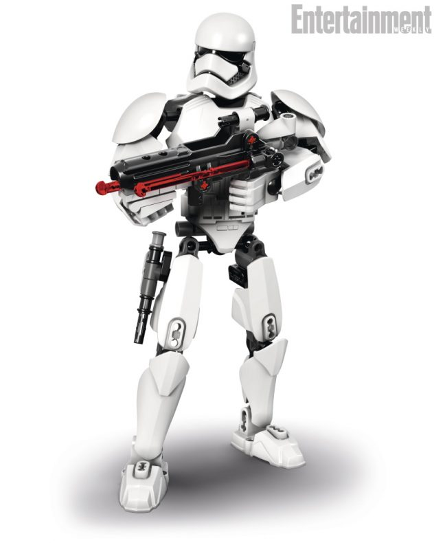 LEGO Star Wars First Order Stormtrooper Buildable Figure