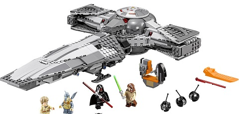 Review-Video zum LEGO Star Wars 75096 Sith Infiltrator