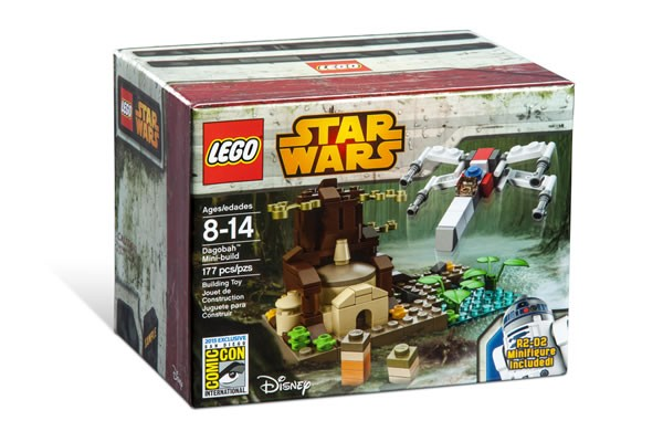 SDCC 2015 LEGO Star Wars Dagobah Mini Set