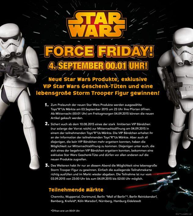 Force Friday ToysRUs