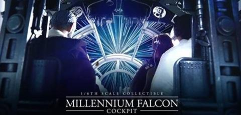 Hot Toys Millennium Falcon Cockpit vorgestellt