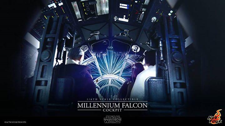 Hot Toys Millennium Falcon Cockpit