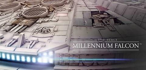 Kompletter Hot Toys Millennium Falcon vorgestellt