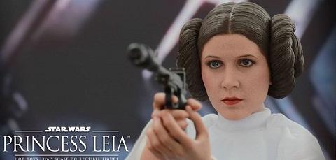 Die ersten Bilder der Hot Toys Princess Leia