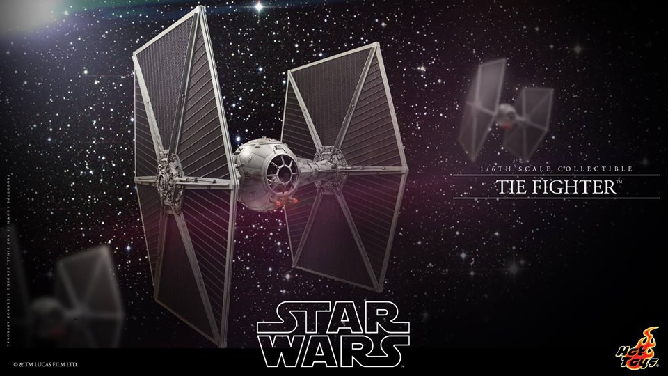 Hot Toys TIE Fighter