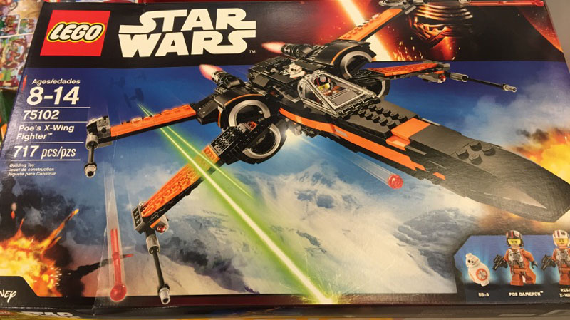 Poe's X-Wing Fighter von LEGO Star Wars