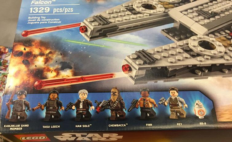 Lego Star Wars 75105 Millenium Falcon