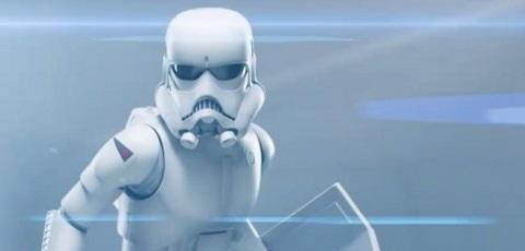 Erstes Video der Sideshow McQuarrie Stormtrooper Statue