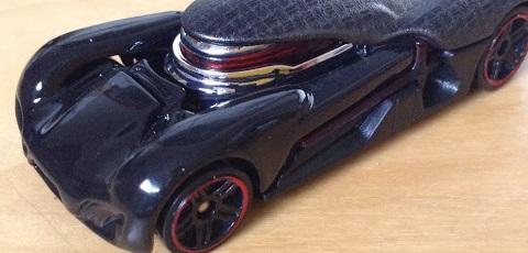 Bildergalerie zum Hot Wheels Kylo Ren Character Car aufgetaucht!