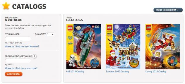 LEGO Katalog Herbst 2015