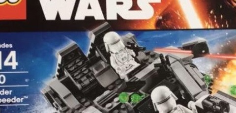 LEGO Star Wars 75100 First Order Snowspeeder – die ersten Bilder!
