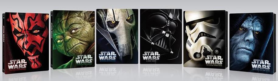 Star Wars auf Blu-Ray - limitierte Neuauflage (1)