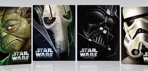 Star Wars Saga auf Blu-Ray – Re-Release im Steelbook