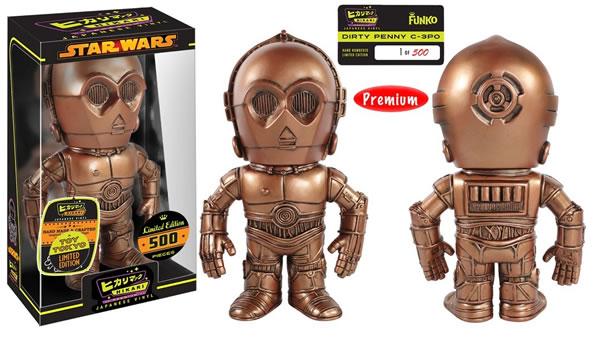 Funko Hikari Sofubi Dirty Penny C-3PO
