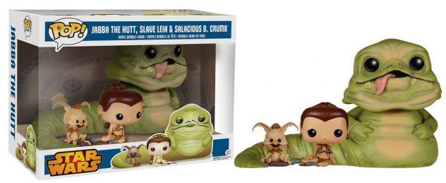 Funko POP! Jabba, Leia & Salacious 3-Pack