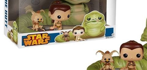 #shortcut: Riesiges Funko POP! Jabba, Leia & Salacious 3-Pack
