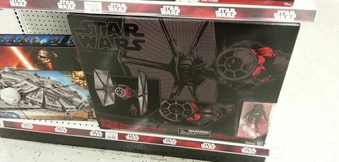 "#shortcut: Hasbro Black Series Special Forces TIE Fighter bei Toys""R""Us"